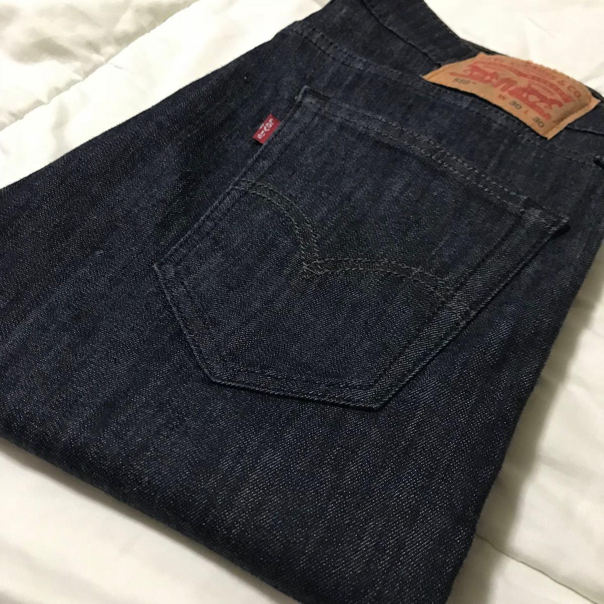 calça jeans masculina 510 skinny slim stretch levis original. Carregando  zoom. 573e36d3e9