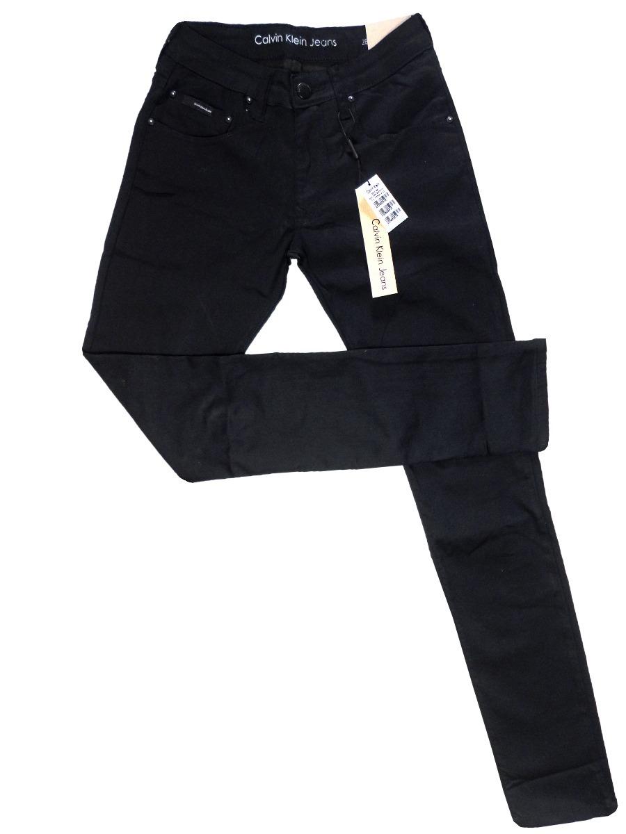 calça jeans masculina calvin klein preta slim fit stretch. Carregando zoom. 0d090c5c70