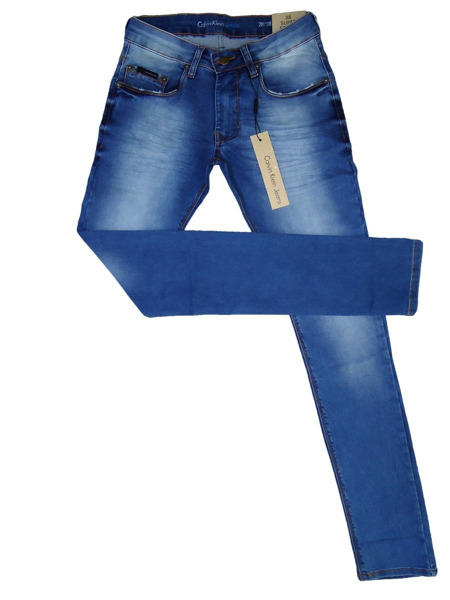 calça jeans masculina calvin klein stretch original slim fit. Carregando  zoom. e33b1419ec