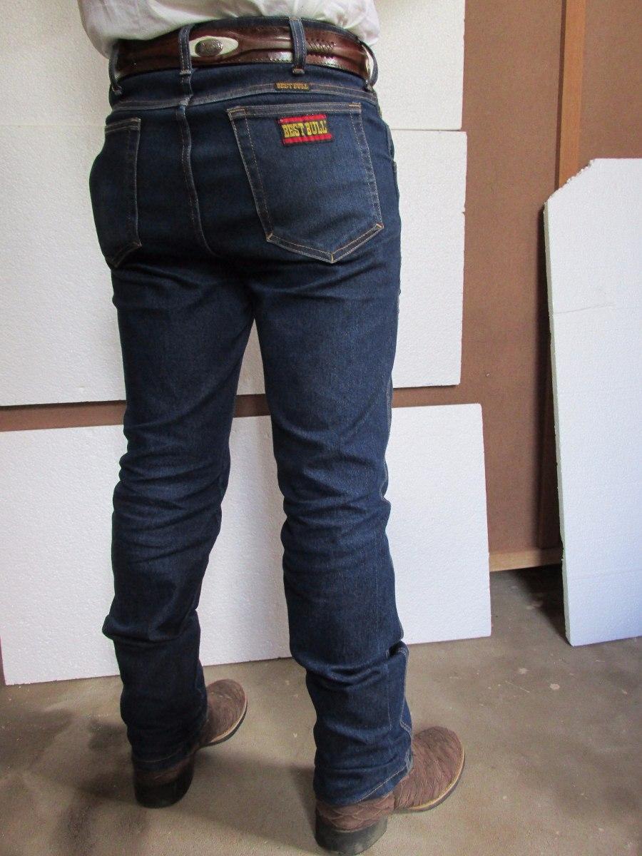 calça jeans masculina country azullavado stoned clycra bbull. Carregando  zoom. fe065e5d0ee