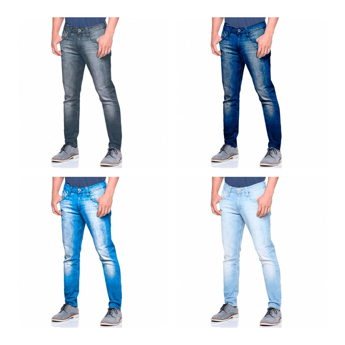 calça jeans masculina de marca slim skinny top atacado. Carregando zoom. 104bbdf7fa6