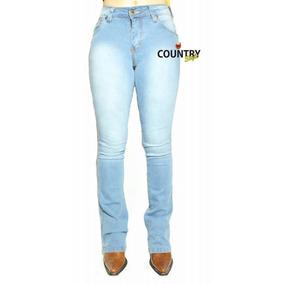 767ae018ed Calça Jeans Masculina Estilo Country Rodeio Com Lycra