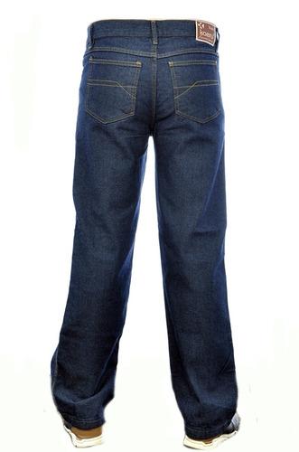 calça jeans masculina grande básica trabalho n 50 à 56