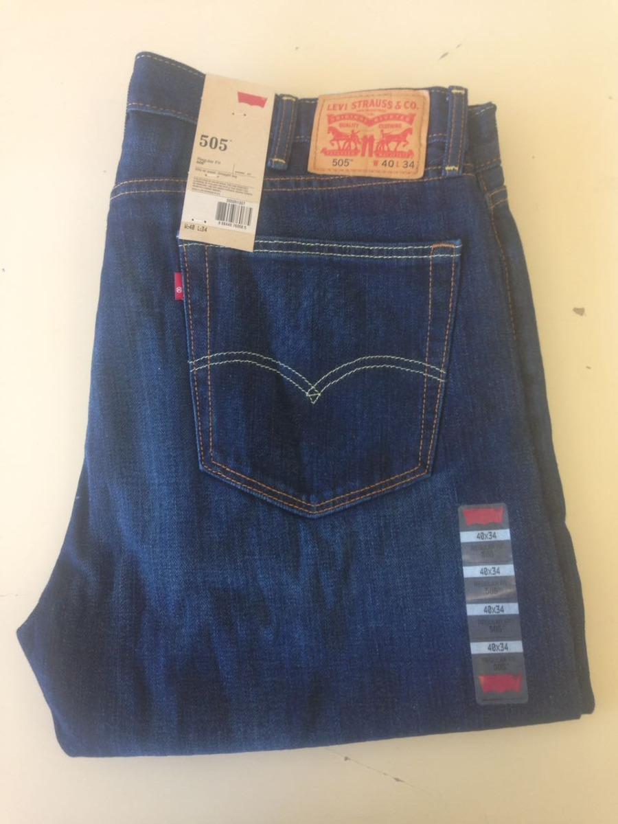 c9a785b0075bf calça jeans masculina levi s 505 azul claro tradicional. Carregando zoom.