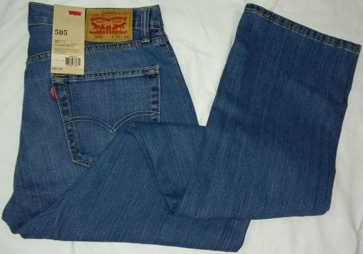 3d7ea1e12c2ba calça jeans masculina levi s 505 regular fit levis 38 ao 50. Carregando zoom .