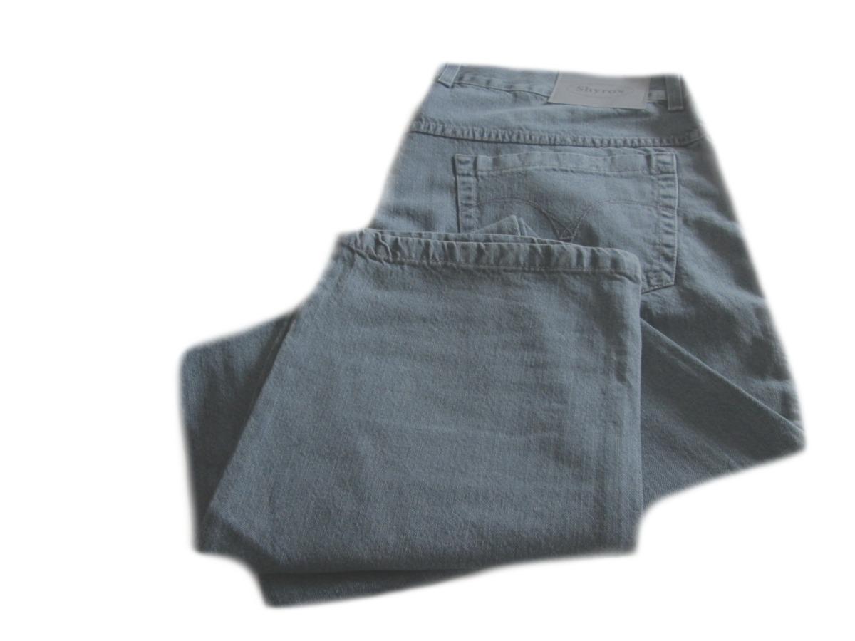 50a88b6524 calça jeans masculina reta 100% algodão 50 a 56  29143 . Carregando zoom.