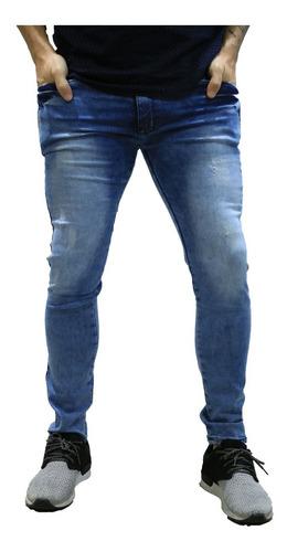 calça jeans masculina skinny *100
