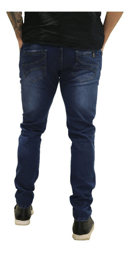calça jeans masculina skinny *96