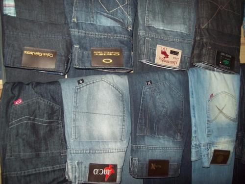 calça jeans masculina skinny com lycra slim kit 3 peças top