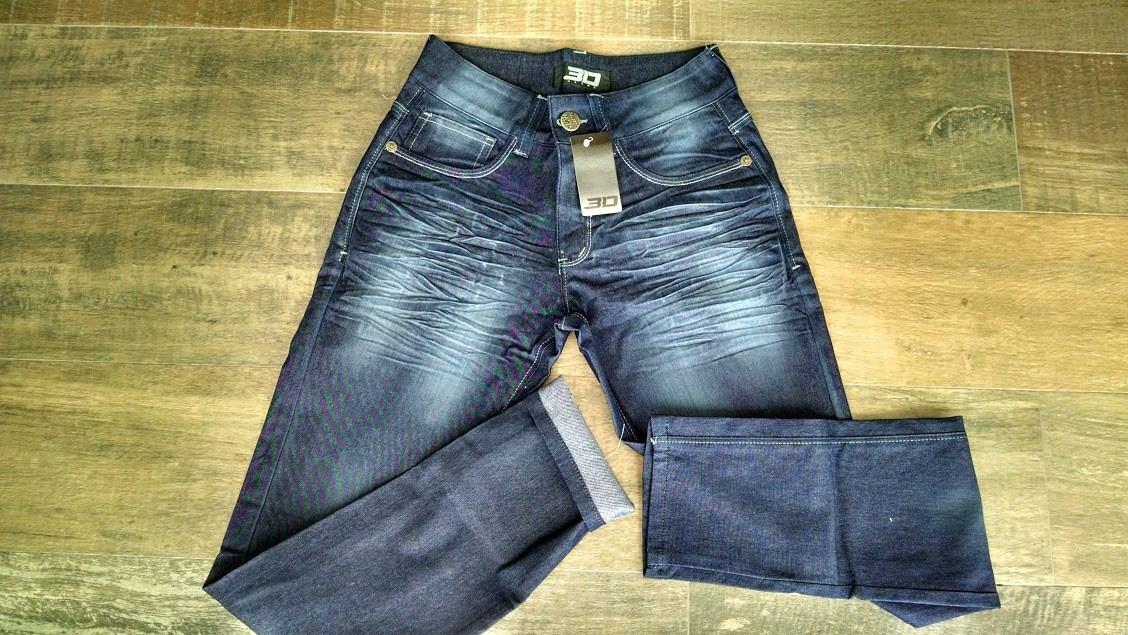 calça jeans masculina skinny e slim + camiseta de brinde. Carregando zoom. de49f44778
