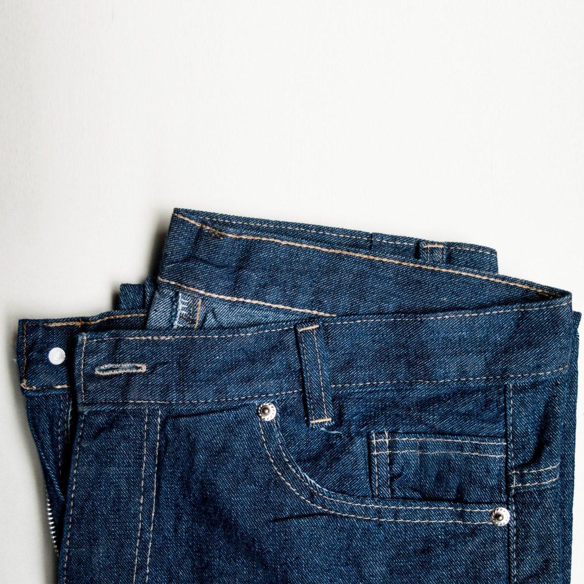 9d4238c0f calça jeans masculina tradicional amaciada uniforme barato. Carregando zoom.