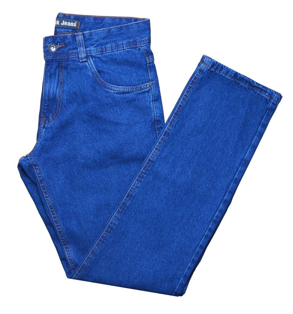 28aa40745 calça jeans masculina tradicional nº 36 ao 56 malha grossa. Carregando zoom.