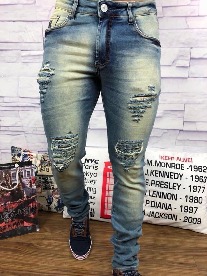 Calça Jeans Masculino Calvin Klein - Tam  38 Ao 50 - R  110,99 em ... ce72ad90b5