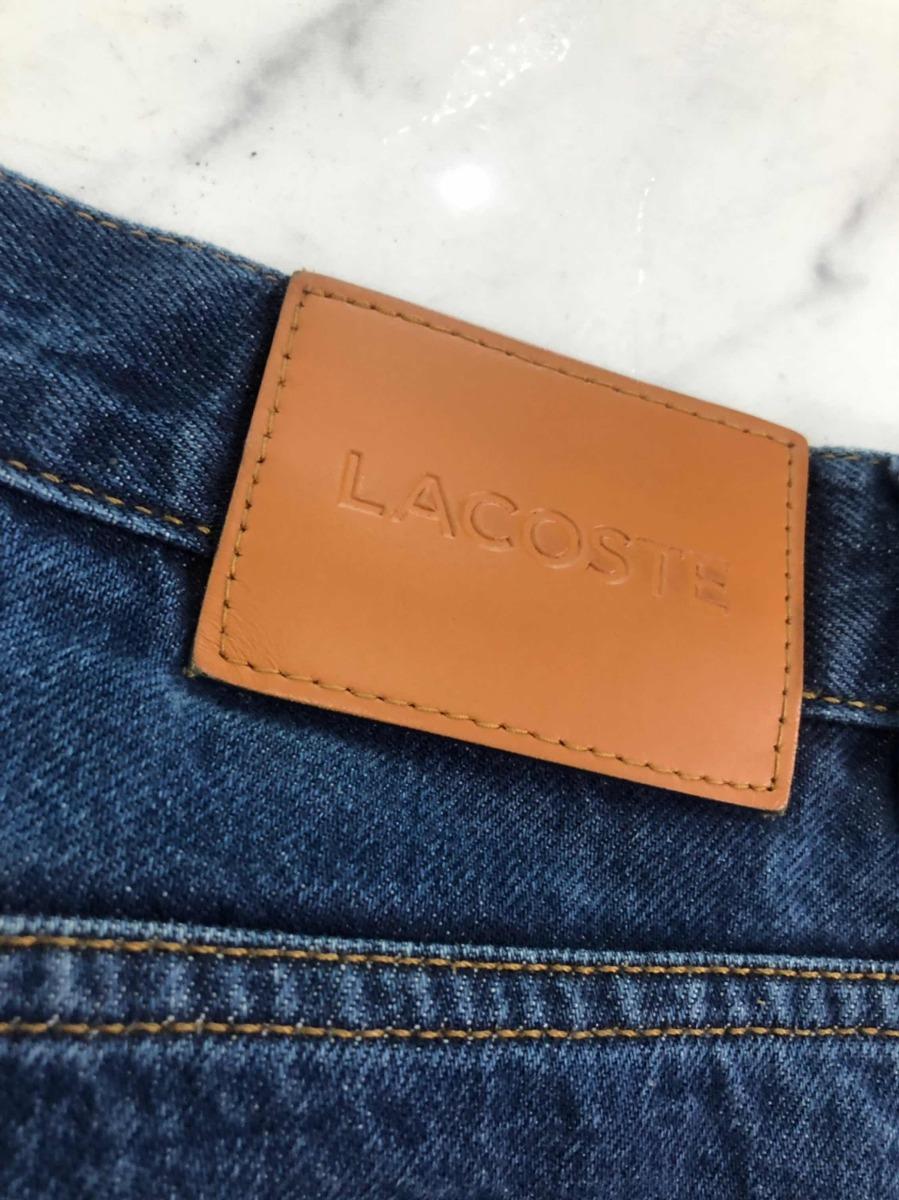 388397477564a Calça Jeans Masculino Lacoste Original U.s.a - 42 Zero!!! - R  199 ...