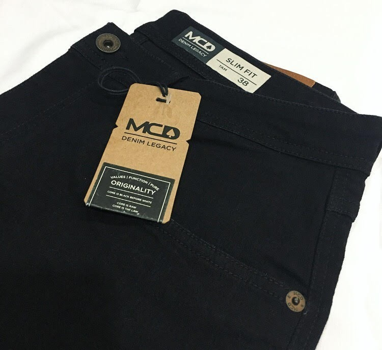 Calça Jeans Mcd Denim Legacy Slim Fit Indigo - R  219 2c8d7ca23b8