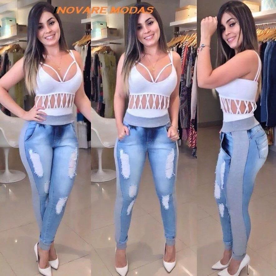 edc0950322 calça jeans moletom sensação 2016. Carregando zoom.