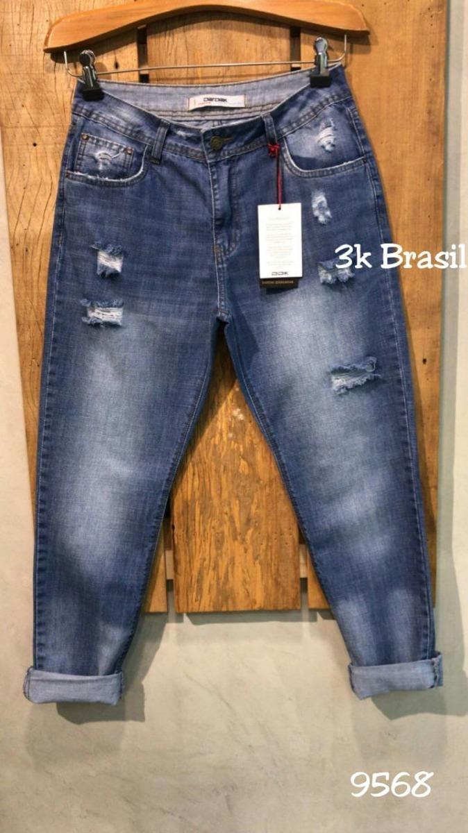 7355306ce calça jeans mom destroyed lavagem azul - outono-inverno2019. Carregando zoom .
