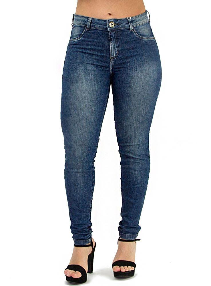 661c11fec5 calça jeans morena rosa isabelli básica feminina. Carregando zoom.