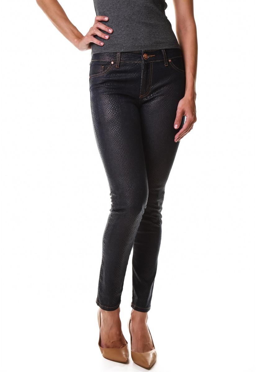 841e81269 calça jeans multi ponto denim skinny resina croco. Carregando zoom.