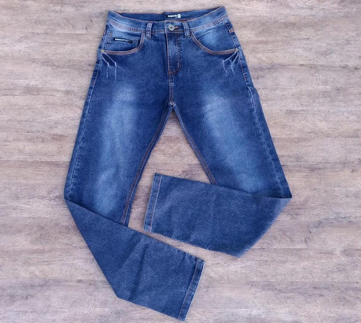 8b6c8617d Calça Jeans Oakley 5 Pockets Masculina Azul - R$ 135,00 em Mercado Livre
