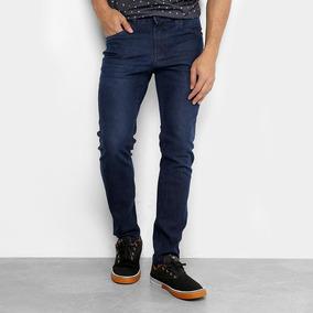 bc406dbeab Calça Jeans Lisa Tamanho 48 - Calças Jeans Masculino 48 Azul escuro ...
