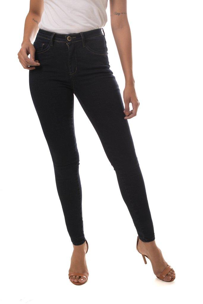 13e2b3512 Calça Jeans Osmoze Mid Rise Skinny Azul - R$ 103,95 em Mercado Livre