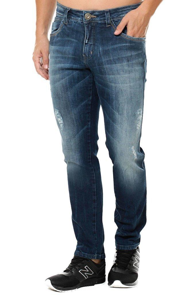95669043a Calça Jeans Osmoze Skinny Azul - R$ 79,90 em Mercado Livre