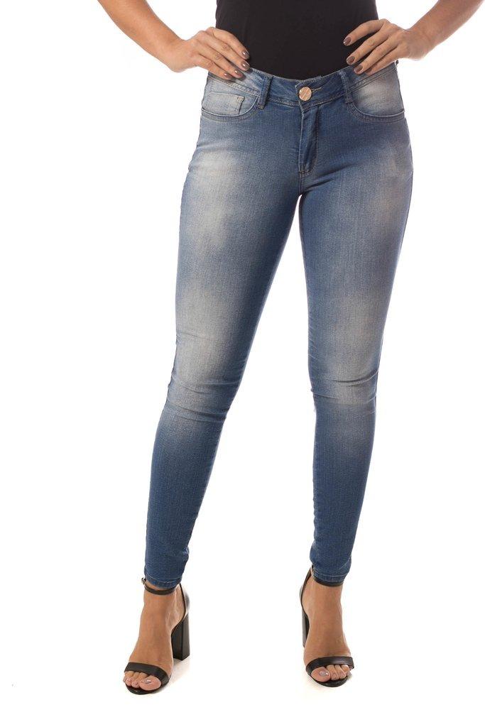 c223b1c35 Calça Jeans Osmoze Skinny Azul - R$ 116,45 em Mercado Livre