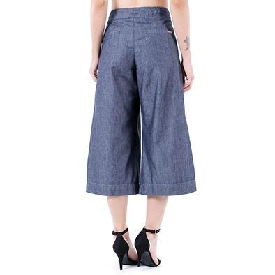 calça jeans pantalona feminina equus