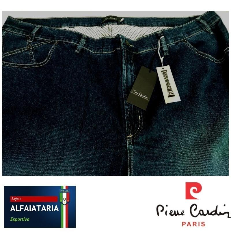Calca Jeans Pierre Cardin Masculina Origina Elastano 64 Azul R
