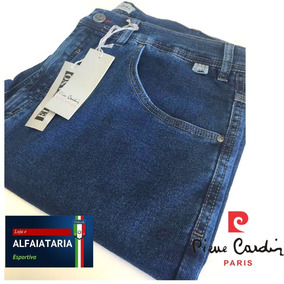a0854917f Calca Jean Pierre Cardin Tradicional - Calças Jeans Masculino no Mercado  Livre Brasil