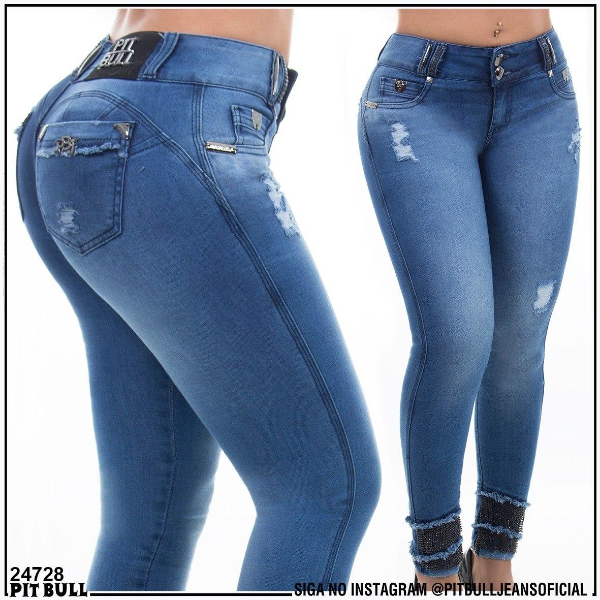 55fa4f240 Calça Jeans Pitbull Estilo Panicat Promoção Ref 24728 - R$ 325,90 em ...