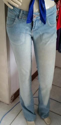 calça jeans planet girls original corte reto lavagem clara