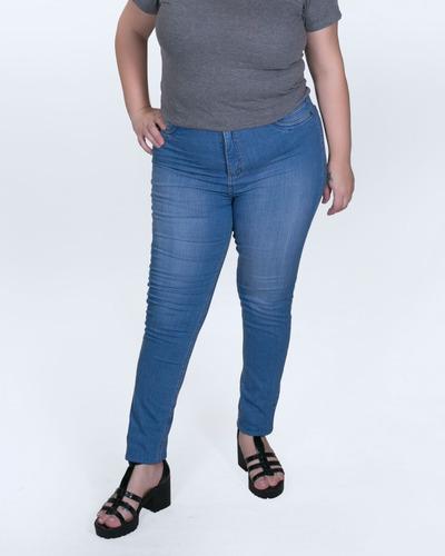 calça jeans plus size feminina 46 ao 70 - moda maior