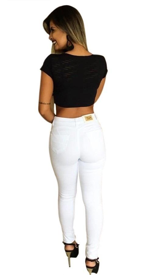8f745f0f1 calça jeans rasgada roupas feminina branca hot pants pitbull. Carregando  zoom.