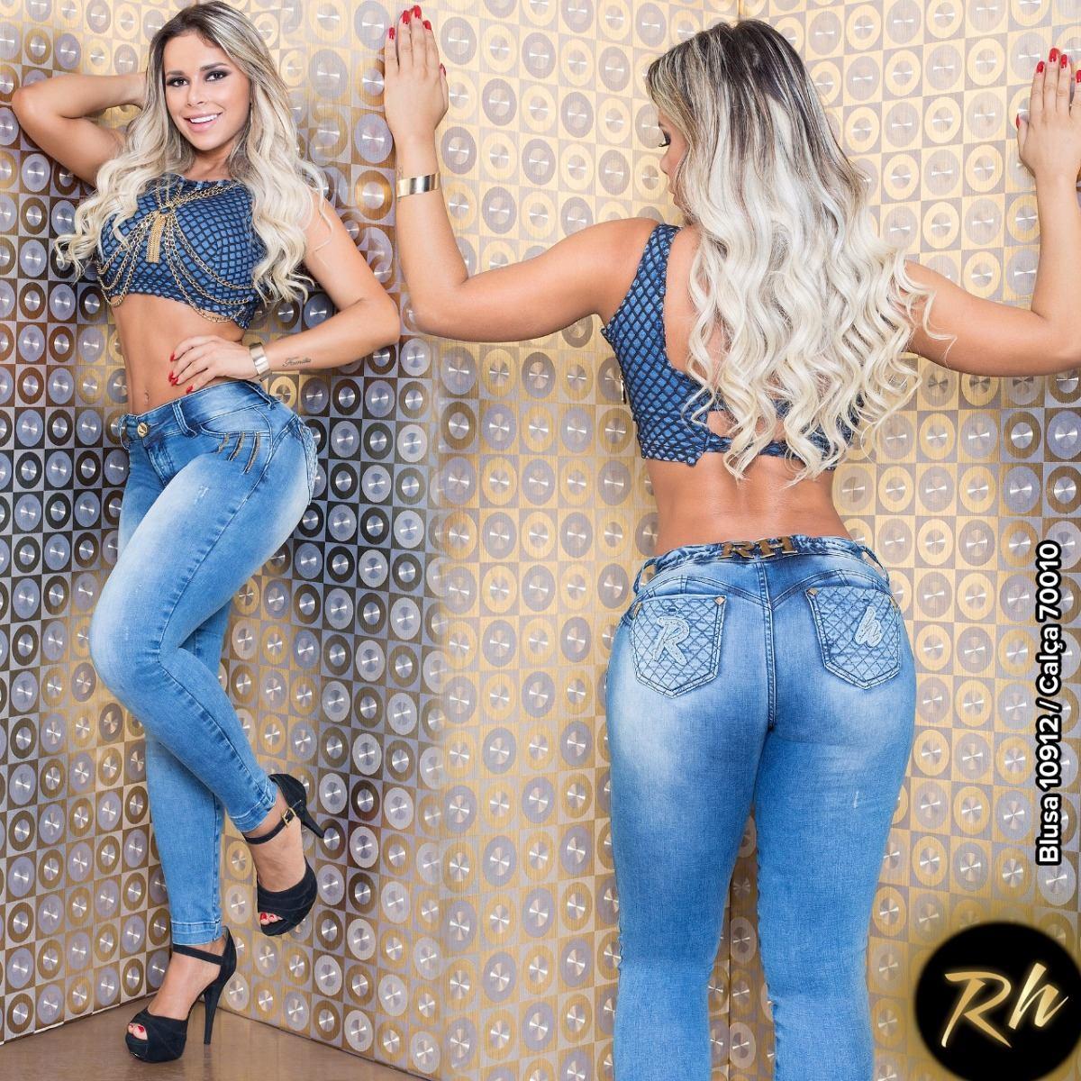 331144c08 Calça Jeans Rhero Estilo Pitbull Promoção Ref 70010 - R$ 258,90 em ...