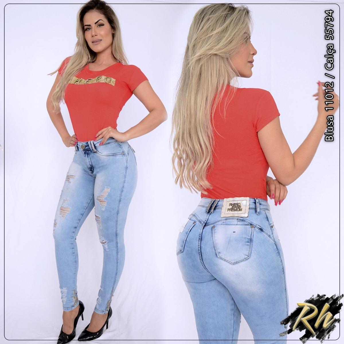 da5178020 Calça Jeans Rhero Estilo Pitbull # Rhero Ref 55794 - R$ 294,00 em ...