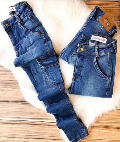 calça jeans sal e pimenta premium
