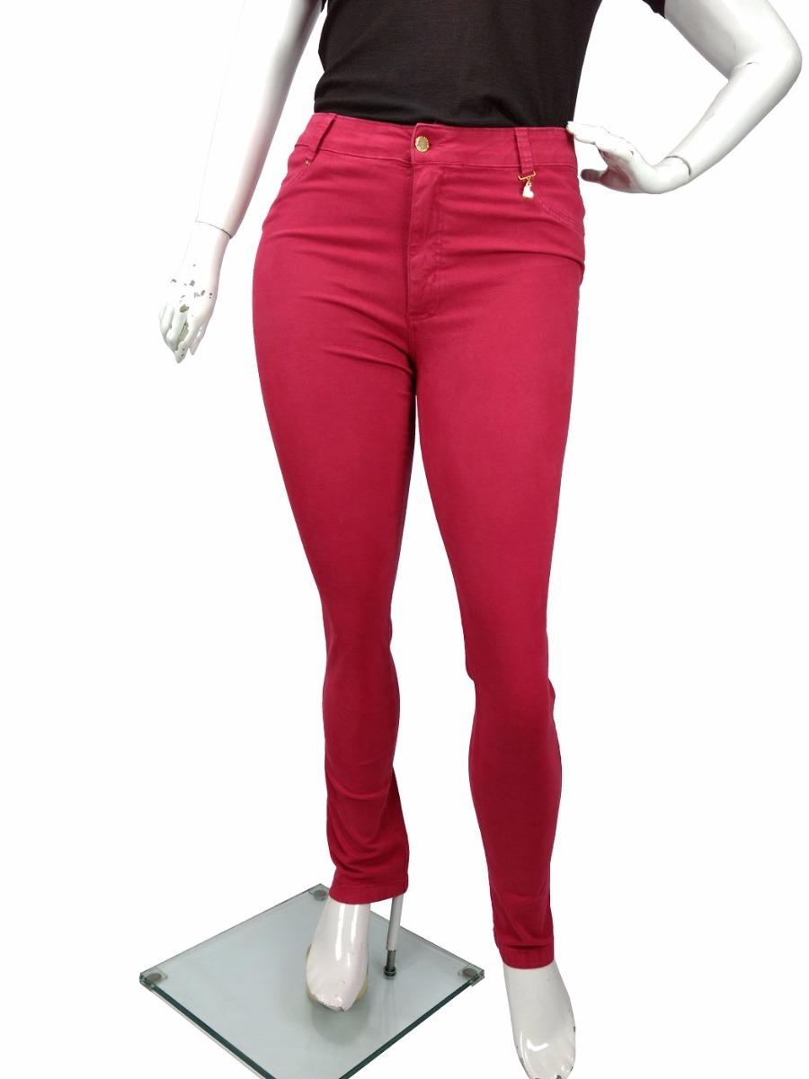 8198bbfa4 calça jeans sarja colorida c  lycra plus size feminina. Carregando zoom.