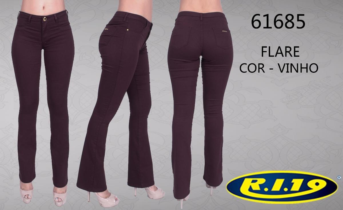 496fe4b865c4a calça jeans sarja flare promoção black friday ri19. Carregando zoom.