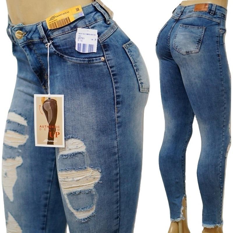 c23ed4669b Carregando zoom... jeans sawary calça. Carregando zoom... calça jeans  sawary anitta levanta bumbum destroyed rasgada