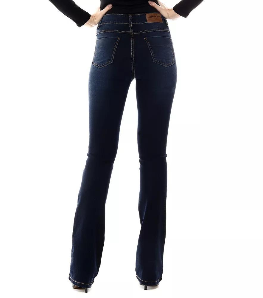 14497ac2d calça jeans sawary flare com lycra ref 254287. Carregando zoom.