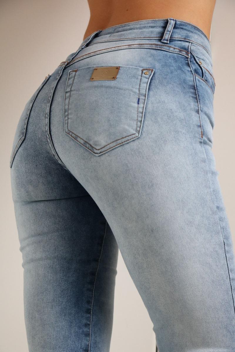 d3c725975 Calça Jeans Skinny Alessandra 23 Marble Gatabakana - R$ 199,90 em ...