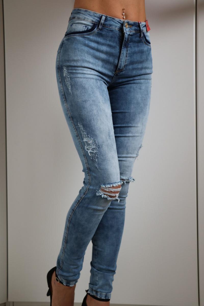 e0e4d9ad1 Calça Jeans Skinny Alessandra 23 Royal Gatabakana - R$ 159,90 em ...