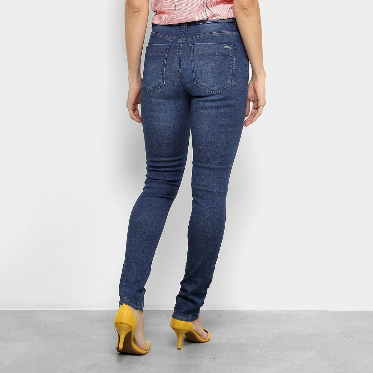 6742ad848 calça jeans skinny cantão comfort cintura média feminina. Carregando zoom.