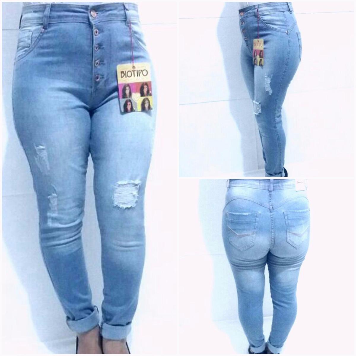 fafa67338 calça jeans skinny cintura alta feminina biotipo da moda. Carregando zoom.