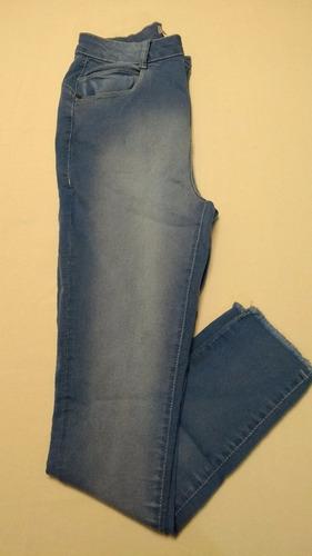 calça jeans skinny cintura alta tam 40 ref 0154