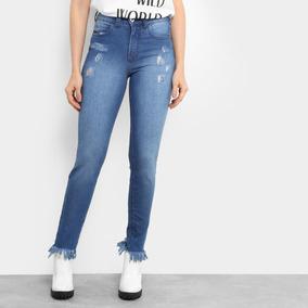 2680b582d Calça Jeans Cinza Colcci Cintura Baixa Com Elastano - Calças ...