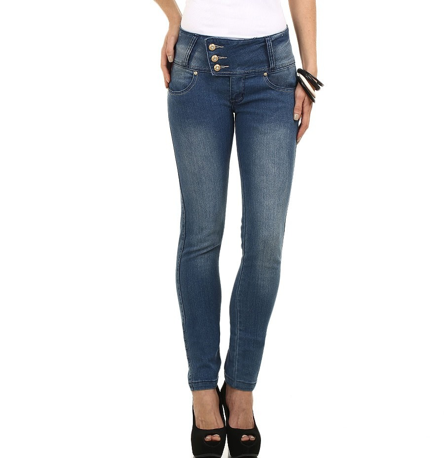 065826487 calça jeans skinny cós largo 3 botões ! queima d estoque. Carregando zoom.