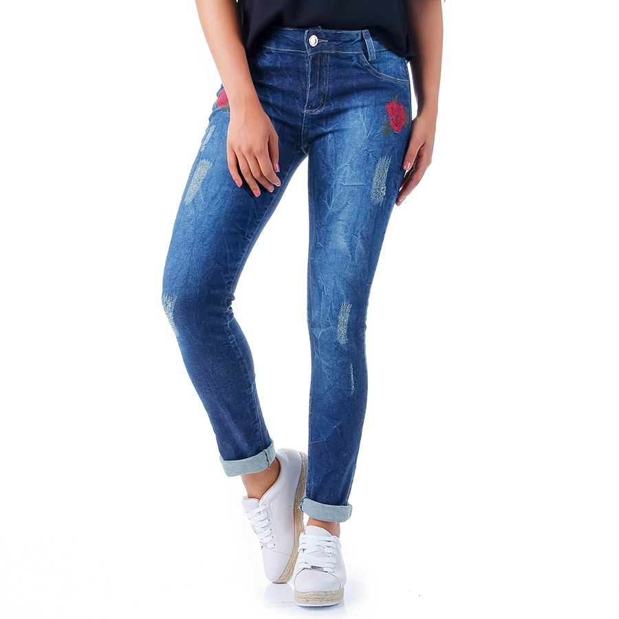 ad5ac3f53a Calça Jeans Skinny Feminina Max Denim - R$ 79,99 em Mercado Livre